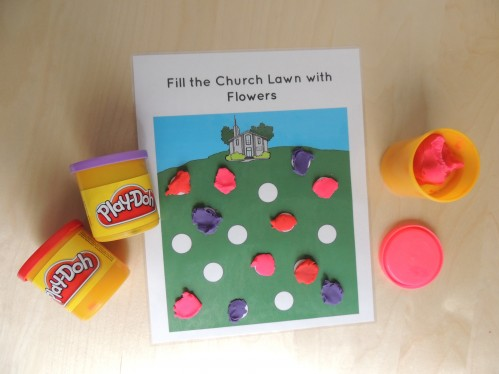 General Conference Playdough Mats
