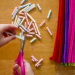General Conference Activities — Straws and Pipe Cleaners, Playdough Mats