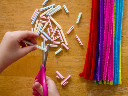 General Conference Activities Straw Pipe Cleaners Activity