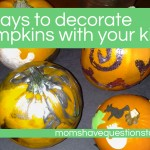 Four Pumpkin Decoration Ideas