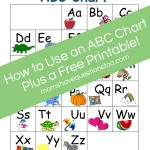 ABC Chart Part 2 – Preschool