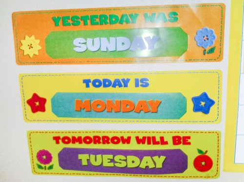 Calendar Time Today Is Tomorrow Is