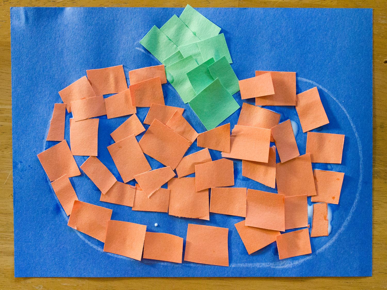 It's just a photo of Modest Pumpkin Artwork Preschool