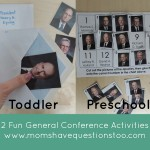 General Conference Activities — Envelopes and Apostle Pictures, Cut and Paste Apostle Pictures