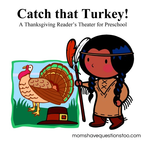 Catch that Turkey Readers Theater -- Thanksgiving Play