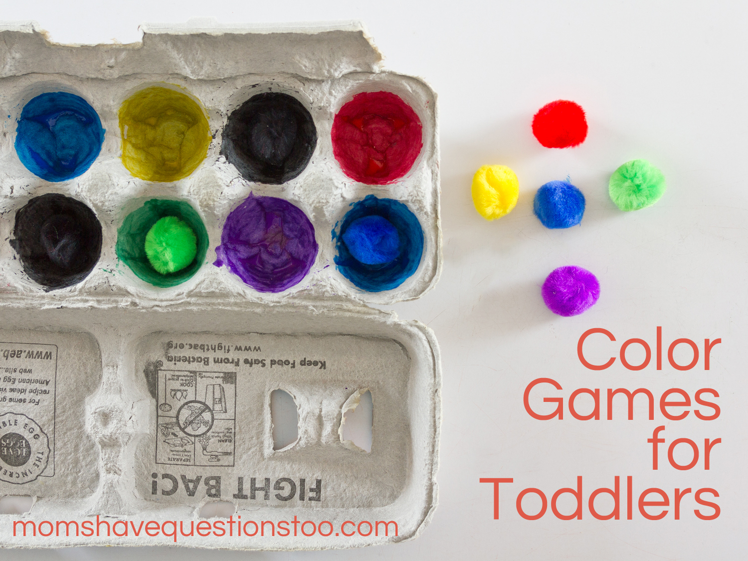 Toddler color learning games - Color Games For Toddlers Moms Have Questions Too