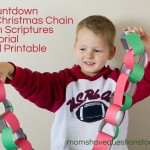 Countdown to Christmas with Scriptures