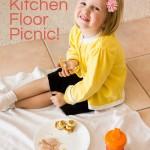 Kitchen Floor Picnic