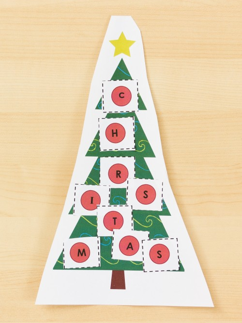 Christmas Tree Learning Activity -- Moms Have Questions Too