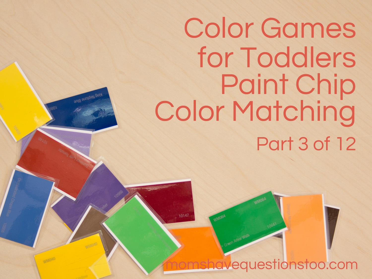 color games for toddlers part 3 paint chip matching moms have