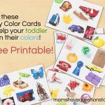 Color Games for Toddlers Part 2 — I Spy Cards