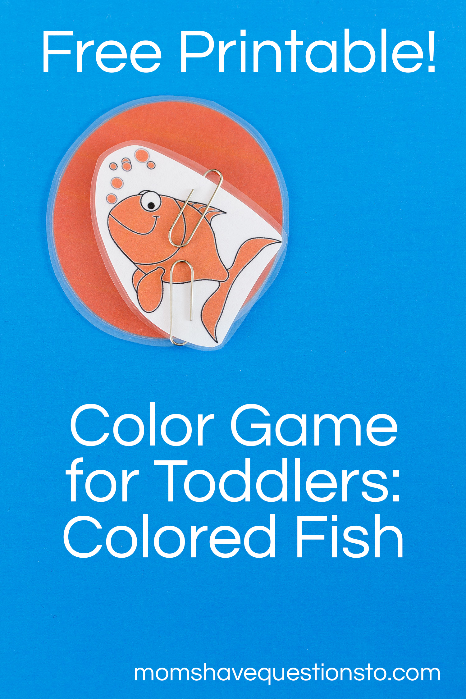 Color games for toddlers - Color Games For Toddlers Part 5 Colored Fishies Moms Have Questions Too