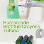 How to Make Homemade Bathtub Crayons