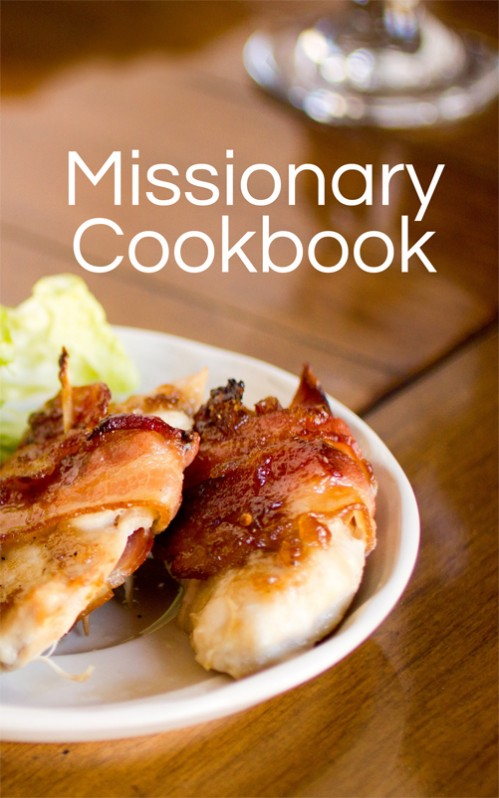 Missionary Cookbook by Moms Have Questions Too -- Just $9.50 on Amazon!