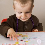 Color Games for Toddlers Part 11 — Bubble Painting