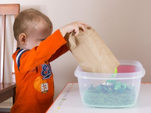 Sensory Bins Color Games for Toddlers -- Moms Have Questions Too