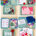 Valentine Themed Tot School Trays