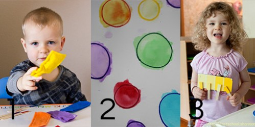 Color Matching Activities for Toddlers -- Moms Have Questions Too