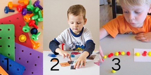 Color Math Activities -- Moms Have Questions Too