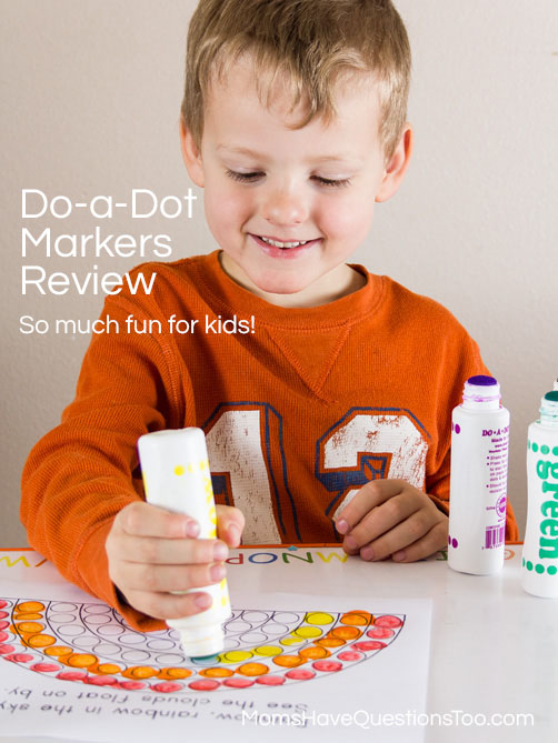 Do a Dot Markers Review - Moms Have Questions Too