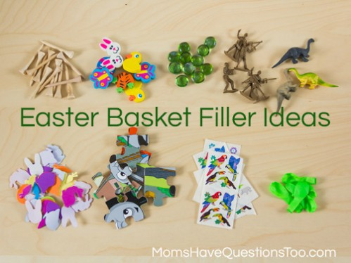 Inexpensive easter basket ideas you will love inexpensive easter basket filler ideas moms have questions too negle Gallery