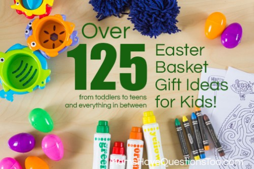 Inexpensive easter basket ideas you will love inexpensive easter basket gift ideas for kids of all ages from toddlers and preschoolers to negle Image collections