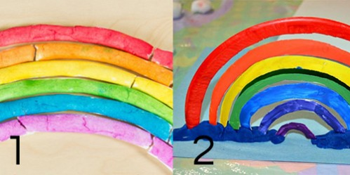 Rainbow Color Activities for Toddlers -- Moms Have Questions Too