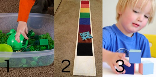 Sensory Color Activities for Toddlers -- Moms Have Questions Too
