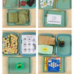 St. Patrick's Day Themed Tot School Trays