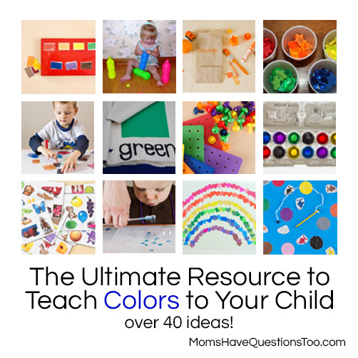The Ultimate Resource to Teach Colors to Your Toddler ...