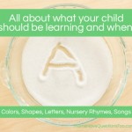 When to Teach What: A guide for colors, shapes, letters, and more…