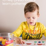 Making Patterns with Pattern Blocks for Preschoolers