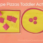 Shape Pizzas to Teach Shapes