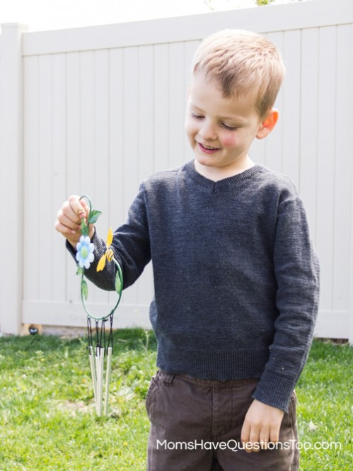 Use a Dollar Store Windchime for a Preschool Lesson on Wind - Moms Have Questions Too