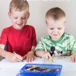 Toddler Music Activities: Draw to Music