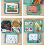 Gardening Themed Tot School Trays