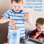 Toddler Music Activity: Homemade Instruments