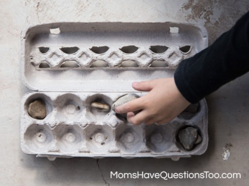 Use An Egg Carton And Start A Rock Collection With Your Toddler Or  Preschooler Www.