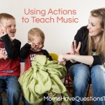 Toddler Music Activities: Hand Signals