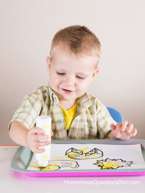 Do-a-dot Marker Activity - Moms Have Questions Too