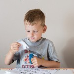 Beginning Letters Cut and Paste Preschool Activity