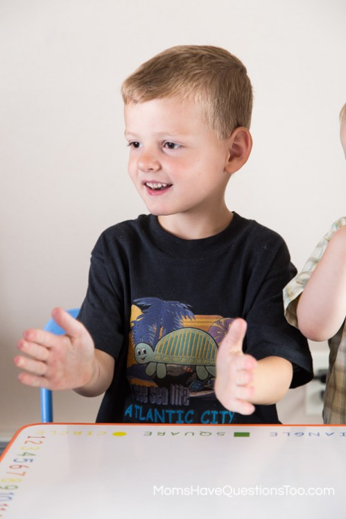Tap the Beat Toddler Music Activities - Moms Have Questions Too