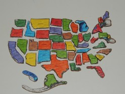 United States Map Puzzle - Puzzle us map