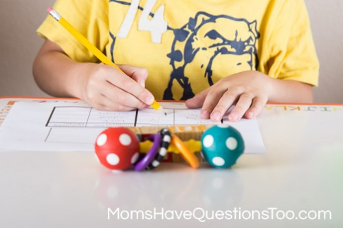 Measure household items with blocks - Moms Have Questions Too
