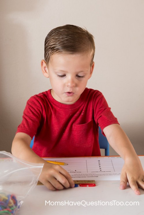 Teaching your preschooler about measuring with a ruler - Moms Have Questions Too