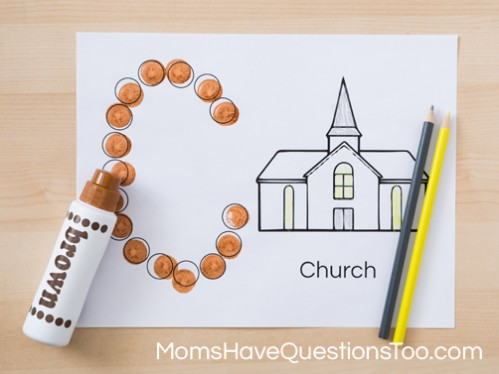 Do a Dot Coloring Pages for Preschoolers and Toddlers - Moms Have Questions Too