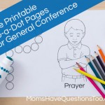 General Conference Do a Dot Pages