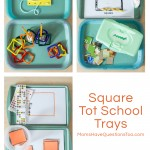 Square Tot Trays