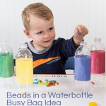 Beads in a Waterbottle Busy Bag