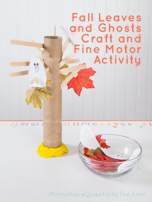 Fun Fall Crafts With Leaves